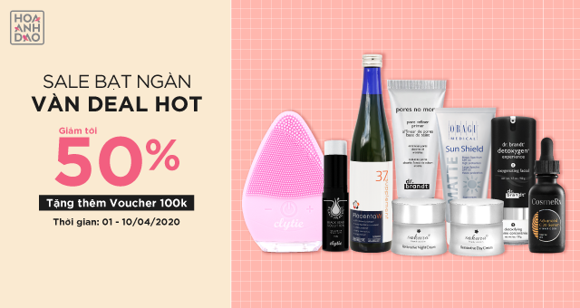 SALE BẠT NGÀN - VÀN DEAL HOT
