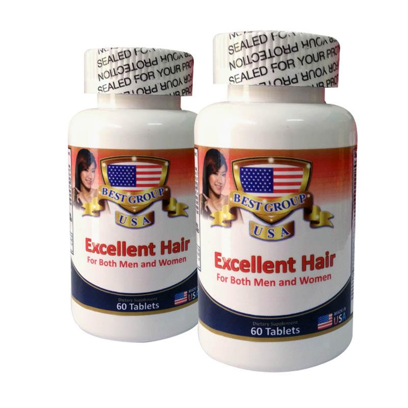 viên uống mọc tóc excellent hair kích thích mọc tóc phục hồi hư tổn cho tóc