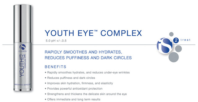 Tinh chất tái tạo Collagen, trẻ hóa, xóa nếp nhăn vùng mắt Is Clinical Youth Eye Complex