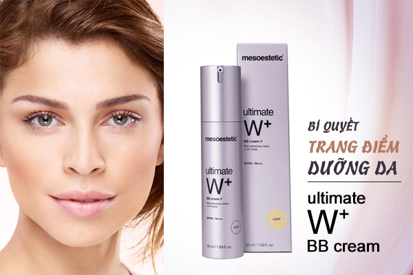 kem-trang-diem-duong-trang-mesoestetic-ultimate-w-whitening-bb-cream-light-spf-50