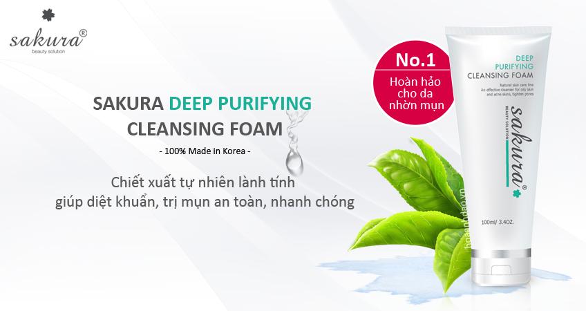 kem-duong-trang-da-sua-rua-mat-tri-mun-sakura-deep-purifying-cleansing-foam