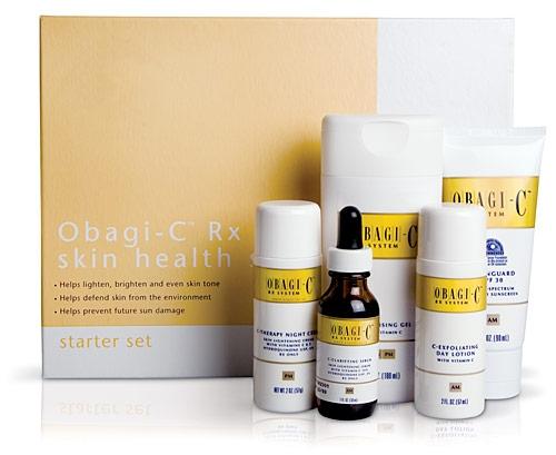 Bộ kem giúp giảm nám dưỡng trắng da OBAGI-C Rx System
