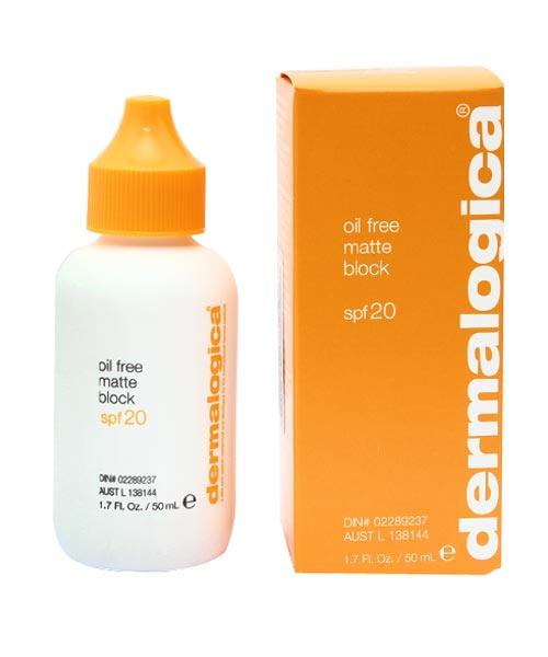 Kem dưỡng da, chống nắng Oil Free Matte Block SPF20 50ml Dermalogica