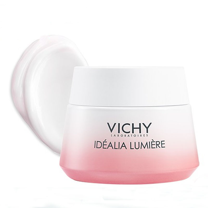 Kem dưỡng da trắng hồng căng mọng Vichy Idealia Lumiere Illuminating Relumping Day Cream