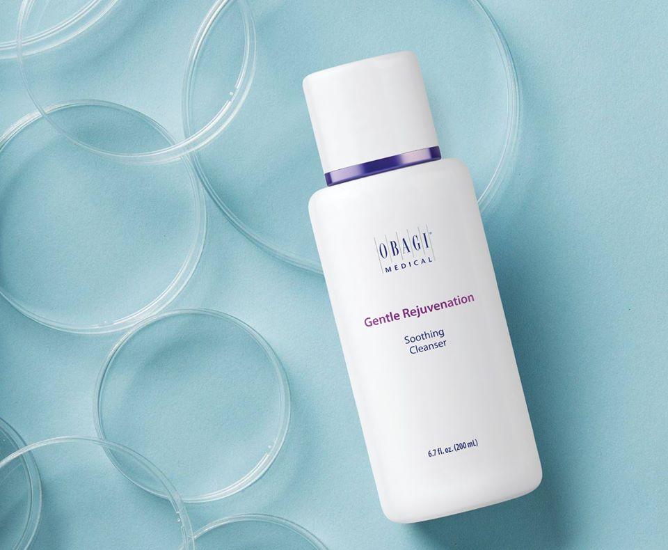 Sữa rửa mặt giảm ngứa rát, phục hồi da Obagi Gentle Rejuvenation Soothing Cleanser